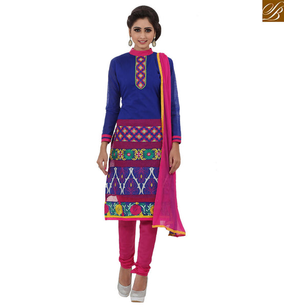 A STYLISH BAZAAR ATTRACTIVE STRAIGHT CUT SALWAAR KAMEEZ DESIGN RTKNA1001A