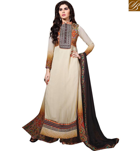 STYLISH BAZAAR PRESENTATION LOVELY DESIGNER PARTY WEAR CHURIDAR DESIGN VDENZ10021