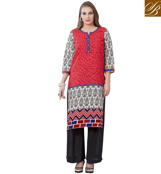 STYLISH BAZAAR LOVELY ONLINE DESIGNER KURTI DESIGN RTEMP1003