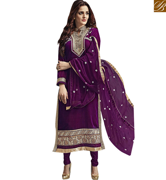 FROM THE HOUSE STYLISH BAZAAR TRENDY FLORAL EMBROIDERED SALWAAR KAMEEZ SUIT VDKAS1003
