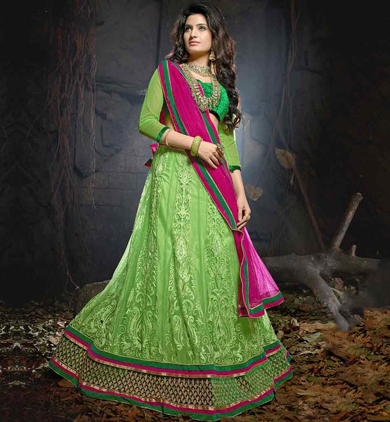 STUNNING WEDDING COLLECTION LEHENGA CHOLI AT UNBELIEVABLE RATES