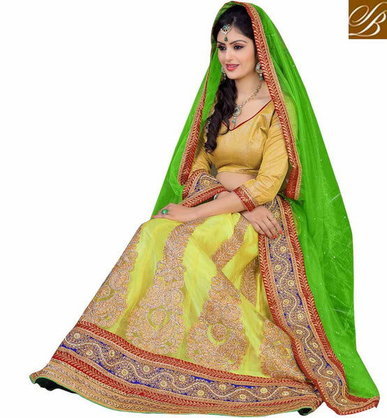 LENGHA CHOLI FOR INDIAN WEDDINGS AT BEST PRICE FREE SHIPPING & COD