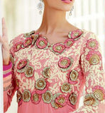 Kimora Fashions Surat Volume 10 Pink Wedding Anarkali Dress 1004 Stylishbazaar