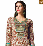 SPLENDID-COFFEE-COTTON-TOP-WITH-COMPLEMENTING-SALWAR-AND-CHIFFON-DUPATTA-CONTRAST-COLORED-DENSE-PRINT-WORK-ON-KAMEEZ-WITH-TRADITIONAL-THREAD-WORK-NECKLINE