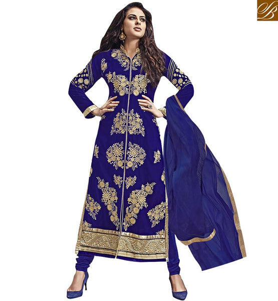 A STYLISH BAZAAR PRESENTATION EXCLUSIVE DESIGNER SALWAAR KAMEEZ DESIGN FOR PARTIES VDKAS1005