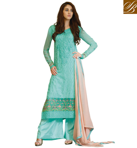 PUNJABI SUIT DESIGNS PANT STYLE SUITS PARTY WEAR SALWAR KAMEEZ INCREDIBLE ZARIWORK, RESHAM EMBROIDERY, STONEWORK AND LACE BORDER DESIGN PARTY WEAR STRAIGHT DRESS