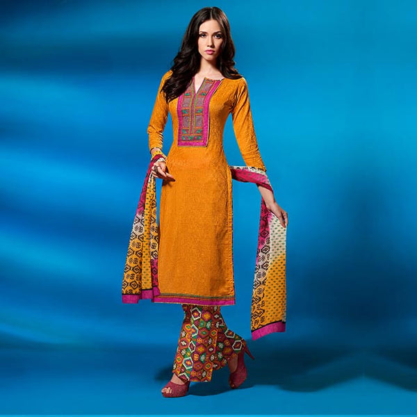STYLISH SUITS KAMEEZ PATTERN OF LONG DRESS CASUAL ATTIRE FOR LADY