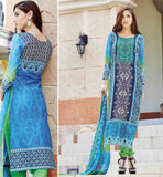 DESIGNER SALWAR KAMEEZ ONLINE SHOPPING INDIA PREMIUM QUALITY PURE COTTON SALWAR KAMEEZ WITH IRRESISTIBLE DUPATTA