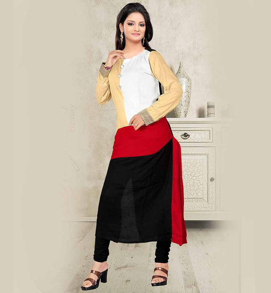 long kurti and pants