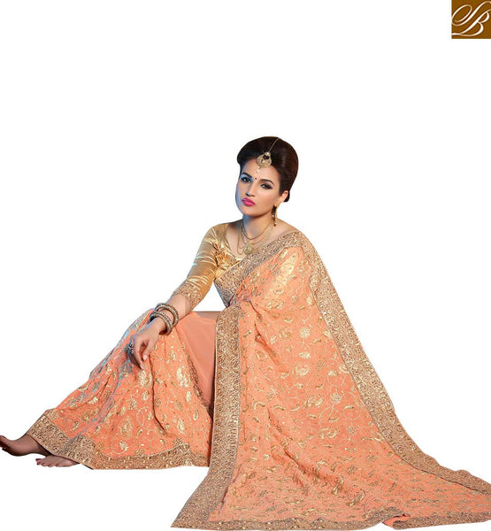 STYLISH BAZAAR LOVELY DESIGNER SARI BLOUSE BEST SUITED FOR ALL OCASSIONS KLIS1007