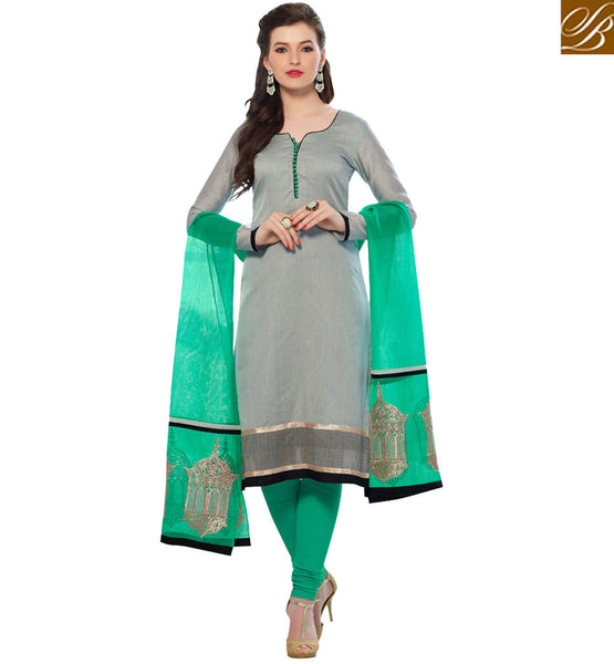 FROM THE HOUSE OF STYLISH BAZAAR SUPERB STRAIGHT CUT SALWAAR SUIT VDCRF1007