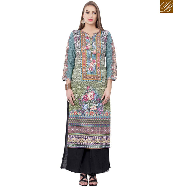 CHARMING DESIGNER KURTI DESIGN FOR PARTIES RTEMP1007