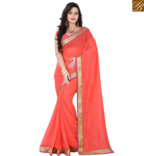 STYLISH BAZAAR GRAND PLAIN SAREE ONLINE FASHION INDIA VDPCK10089