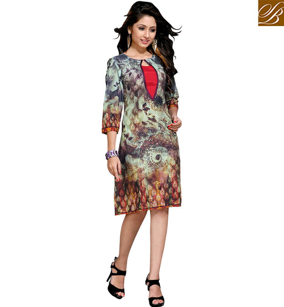 STYLISH BAZAAR ROYAL DESIGNER CASUAL LOOK KURTI DESIGN FOR PARTIES VDMBL10098