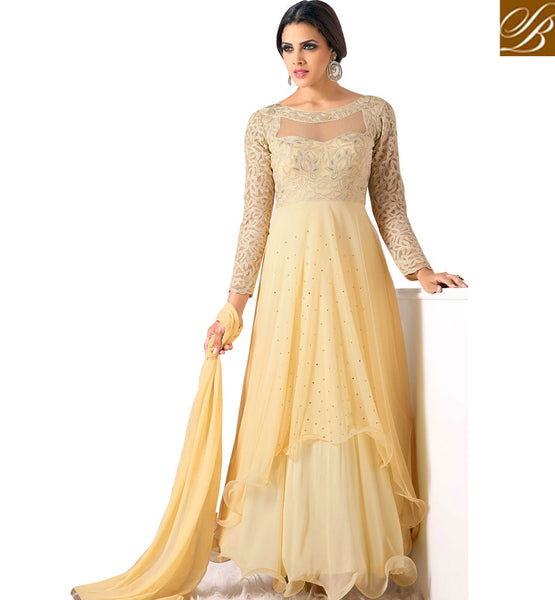 STYLISH DESIGNER DRESSES 2015 BEST ANARKALI INDIAN STYLE STATEMENT