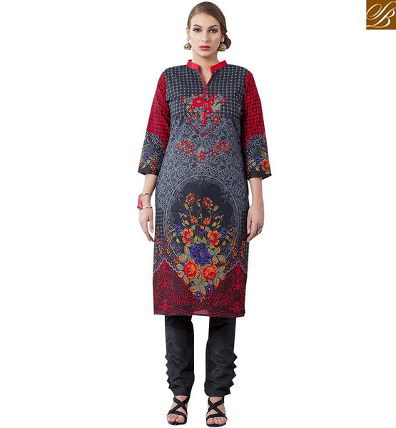 CUTE PARTY WEAR KURTI DESIGN RTEMP1009