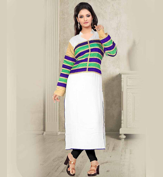 long cotton kurti online