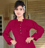Buy online Indian ladies Kurtis| long tunic tops | Womens designer Long Kurti
