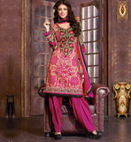 SHOP ONLINE PARTY WEAR CAMBRIC COTTON SALWAR SUITS WITH DUPATTA