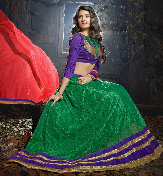 BUY INDIAN DESIGNER WEDDING WEAR LEHENGA CHOLI ONLINE AT LOW RATES