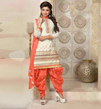 Conrtast color combination kurti with salwar