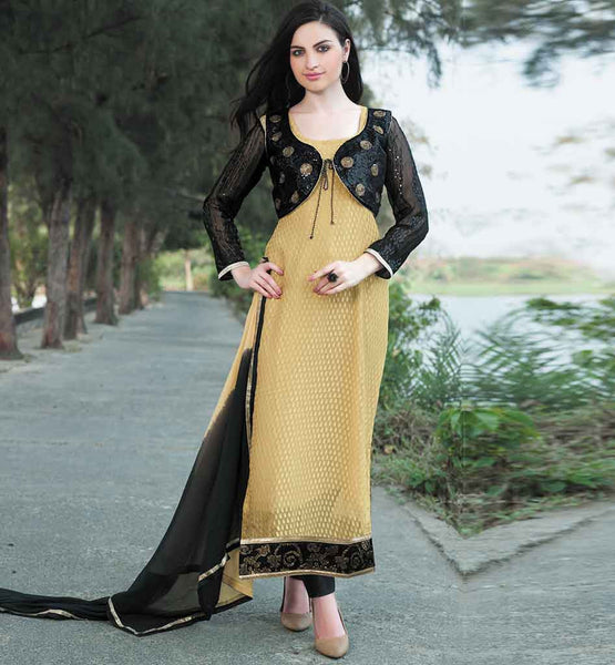 EVERSTYLISH SALWAR KAMEEZ PATTERNS DESIGNS WITH JACKET SHORT KOTI