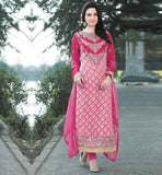 EVERSTYLISH SALWAR KAMEEZ SUIT WITH HEAVY EMBROIDERED NECK DESIGNS