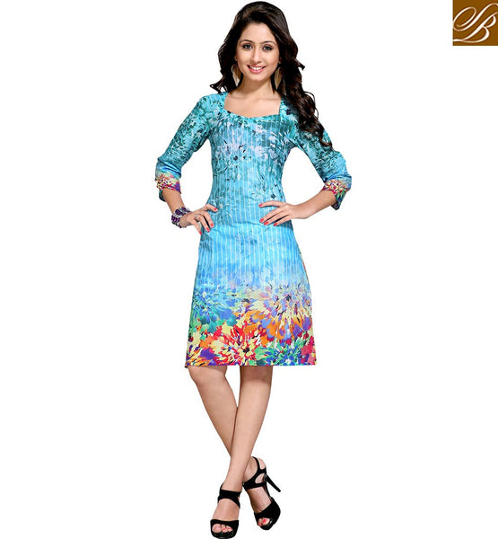 STYLISH BAZAAR  PREMIUM DESIGNER PARTY WEAR KURTI DESIGN VDMBL10104