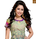 FROM THE HOUSE OF STYLISH BAZAAR APPEALING DESIGNER ABSTRACT DESIGN COTTON KURTI VDMBL10107