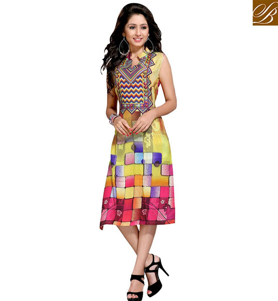 STYLISH BAZAAR BEAUTEOUS PARTY WEAR DESIGNER KURTI VDMBL10109