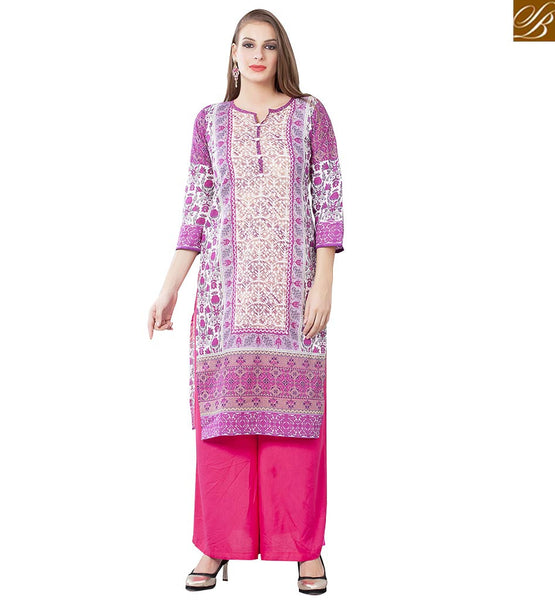 DAZZLING KURTI DESIGN TAILOR MADE FOR PARTIES RTEMP1010 BY MULTI