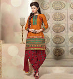 Gorgeous dresses with patiala style salwar