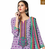 PLEASING-PURPLE-AND-WHITE-COTTON-TOP-WITH-COZY-SALWAR-AND-CHIFFON-DUPATTA-WIN-HEARTS-BY-GETTING-DRESSED-IN-THIS-LOVELY-PRINT-WORK-DRESS,-EXCITING-EMBROIDERY-ON-NECKLINE