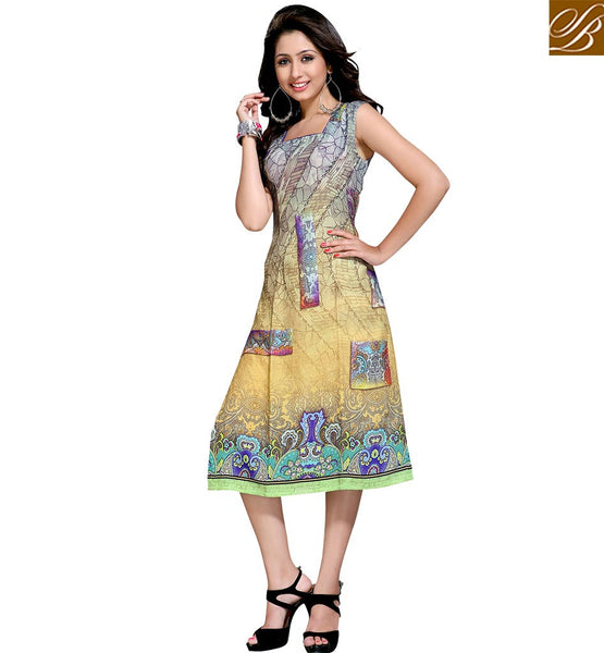 BROUGHT TO YOU BY STYLISH BAZAAR DELIGHTFULLY DESIGNER KURTI DESIGN ONLINE VDMBL10111