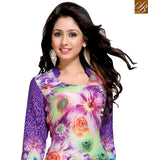 BROUGHT TO YOU BY STYLISH BAZAAR LOVELY DIGITAL FLOWER PATTERN DESIGNER KURTI VDMBL10114