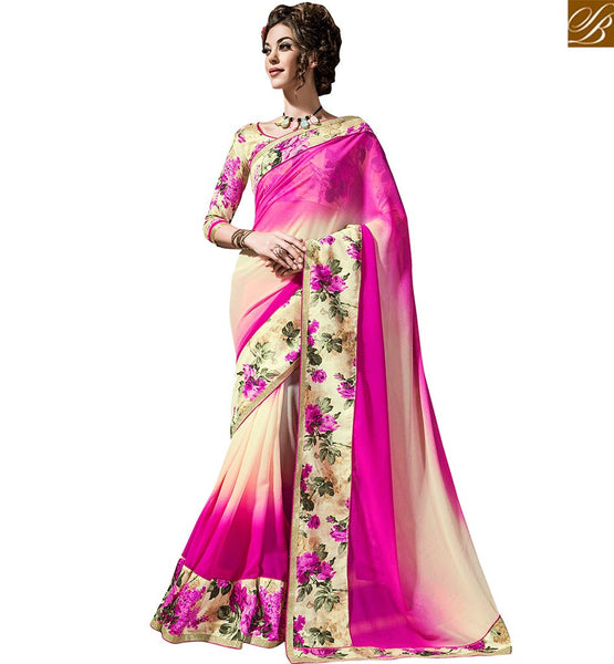 STYLISH BAZAAR ATTRACTIVELY DESIGNED CASUAL WEAR SARI BLOUSE DESIGN VDTIA10116