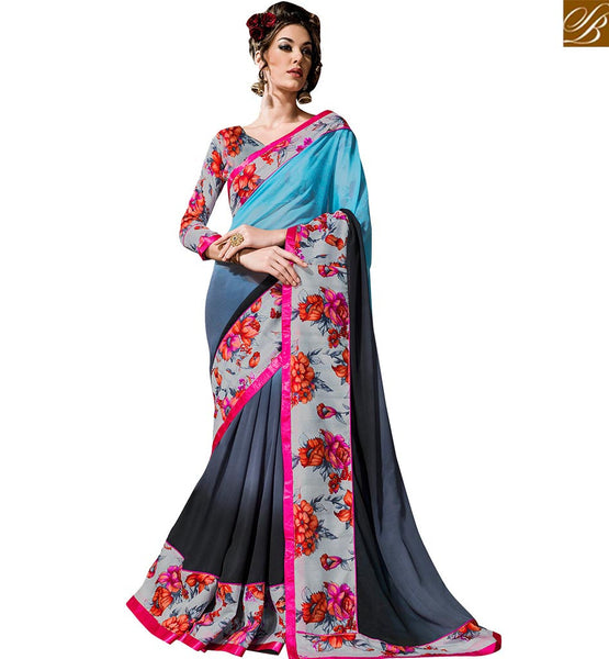 STYLISH BAZAAR STUNNING DESIGNER ONLINE SAREE SHOPPING VDTIA10119
