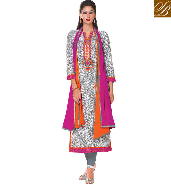 INDIAN-CLOTHES-COLLECTION-SALWAR-KAMEEZ-DESIGNS-LATEST-SUIT-PATTERNS-2015-MAJESTIC-GREY-COTTON-TOP-WITH-ELEGANT-SALWAR-AND-DUAL-COLOR-CHIFFON-DUPATTA