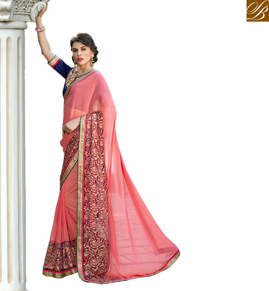 STYLISH BAZAAR BRILLIANTLY DESIGNED SARI BLOUSE FOR PARTIES RTSHD1012