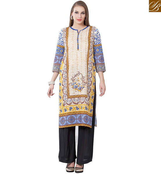 BROUGHT TO YOU BY STYLISH BAZAAR ELEGANT DESIGNER PARTY WEAR KURTI DESIGN RTEMP1013