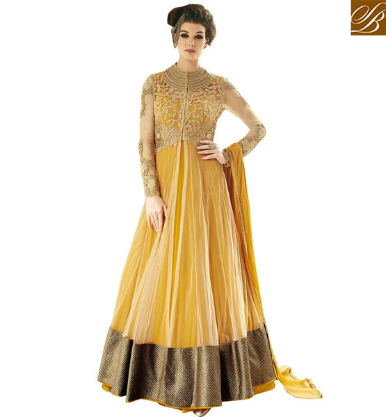 STYLISH BAZAAR SUPERB DESIGNER GOWN FOR SPECIAL OCCASION VDLAV10153