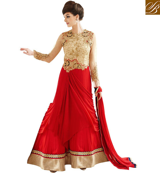 STYLISH BAZAAR FASHIONABLE INDIAN PARTY WEAR GOWN ONLINE SHOPPING VDLAV10157