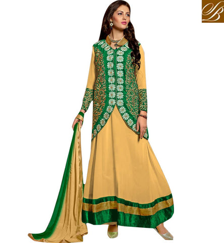 STYLISH BAZAAR CAPTIVATING DESIGNER SALWAR KAMEEZ ONLINE VDRNB10162