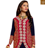 FROM THE HOUSE OF STYLISH BAZAAR CHARMING JACKET STYLE SALWAR SUIT DESIGN VDRNB10163