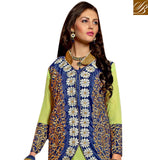 BROUGHT TO YOU BY STYLISH BAZAAR CLASSY DESIGNER PUNJABI KOTI STYLE DRESS SUIT VDRNB10164