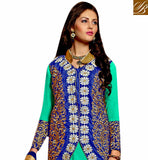 ELEGANT DESIGNER LONG ANARKALI SALWAR KAMEEZ WITH JACKET VDRNB10167