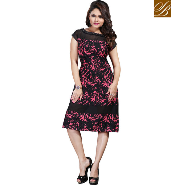 STYLISH BAZAAR STUNNING DIGITAL PRINTED KURTI ONLINE FASHION INDIA VDSPL10169