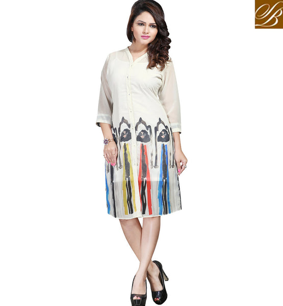 STYLISH BAZAAR SUPERBLY DESIGNED DIGITAL PRINTED KURTI FOR GIRLS VDSPL10170