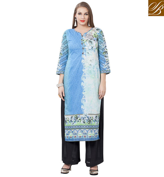 STYLISH BAZAAR MAGNIFICENT DESIGNER KURTIS ONLINE SHOPPING RTEMP1018