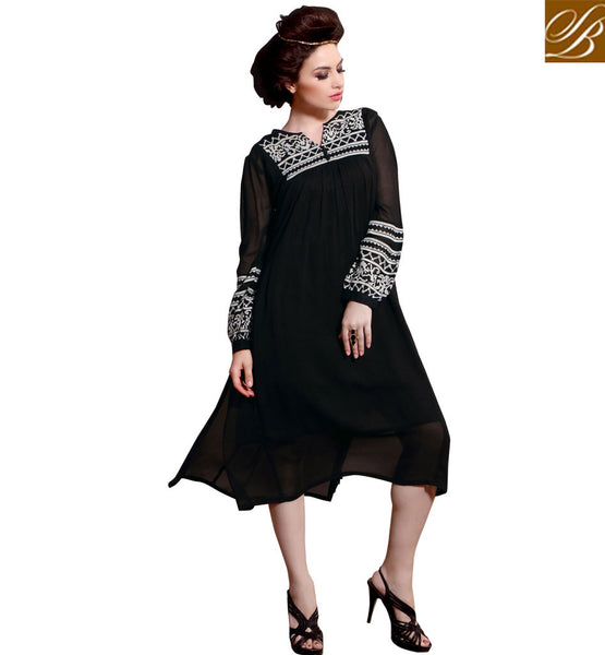 STYLISH BAZAAR CUTE DESIGNER INDIAN PARTY WEAR KURTIS ONLINE RTBLM101